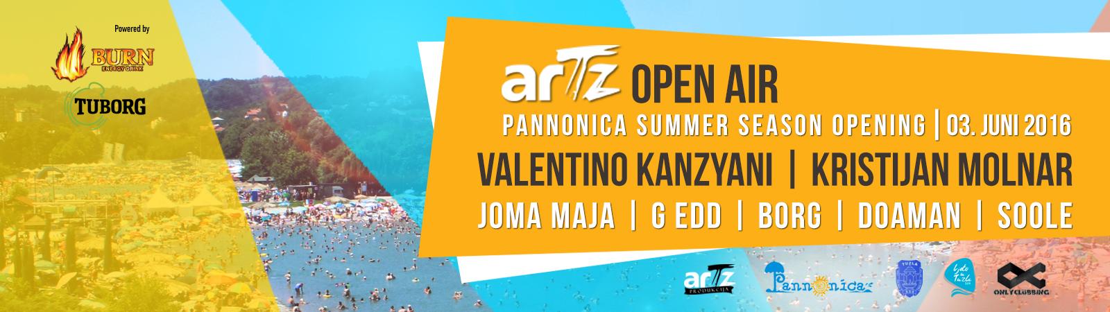 Artz Open Air PANONIKA SIDER 1600x450px